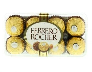 Ferrero Rocher Crisp Hazelnut & Milk Chocolate 200g-best friendship day gifts