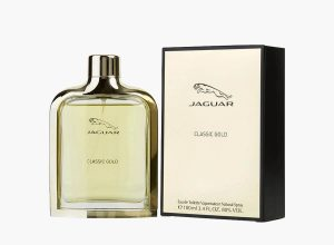 Jaguar Classic Gold Eau De Toilette Vaporisateur for Men - 100 ml- best friendship day gifts